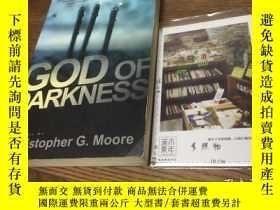 二手書博民逛書店英文原版罕見god of darkness 【存於溪木素年書店】