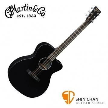 Martin OMCXAE BLACK 41吋 可插電 民謠吉他 桶身: OM桶【電木吉他/台灣總代理/公司貨】