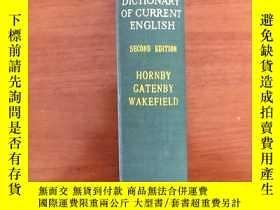 二手書博民逛書店THE罕見ADVANCED LEARNER S DICTIONARY OF CURRENT ENGLISHY