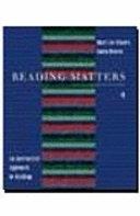二手書博民逛書店《Reading Matters 4: An Interactive Approach to Reading》 R2Y ISBN:0395904293