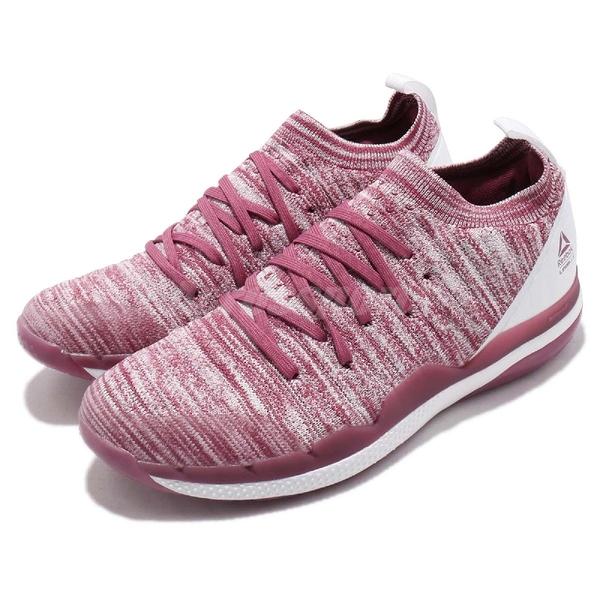 Reebok 訓練鞋 Ultra Circuit TR ULTK LM 粉紅 紅 健身專用 編織鞋面 襪套式 女鞋【ACS】 CN6343