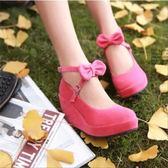 618大促cosplay鞋洛麗塔公主鞋絆扣娃娃鞋女仆鞋 坡跟厚底鞋 鬆糕鞋少女