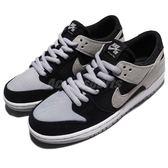 Nike 滑板鞋 SB Zoom Dunk Low Pro 黑 灰 麂皮 男鞋 女鞋 低筒 休閒鞋【PUMP306】 854866-001