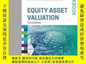 二手書博民逛書店Equity罕見Asset Valuation Workbook (cfa Institute Investmen
