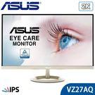 【免運費】ASUS 華碩 VZ27AQ 27型 2K IPS 專業螢幕 薄邊框 廣視角 內建喇叭 低藍光 不閃屏 三年保固