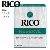 【小叮噹的店】DLR05 美國Rico Reserve 上低音 薩克斯風竹片 Baritone Sax 公司貨