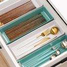 筷子勺子刀叉收納盒瀝水架置物架廚房筷子水果杯子瀝水神器 一米陽光