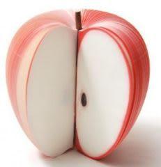 造型水果便條紙 (紅蘋果)-艾發現