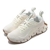 Reebok 慢跑鞋 Zig Dynamica 白 灰 女鞋 透氣 緩震 運動鞋【ACS】 FX1103