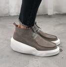 【BIRDYEDGE】 品牌設計 歐洲 牛皮 飛鼠靴 男靴  增高靴 8CM 增