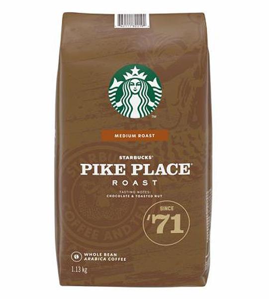 [COSCO代購] 促銷到10月19日 C608462 STARBUCKS PIKE PLACE 派克市場咖啡豆 每包1.13公斤