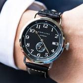HAMILTON 漢米爾頓 KHAKI NAVY 卡其海軍先鋒小秒針機械腕錶 H78415733 熱賣中!