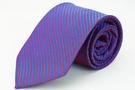 【Alpaca】紅紫斜紋領帶