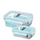 挖寶清倉贈品Glasslock經典保鮮盒組2入贈品R0079