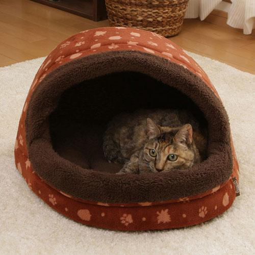 ◆MIX米克斯◆日本IRIS.秋收 圓頂睡窩 M號 (PBDH-480),適合小型犬