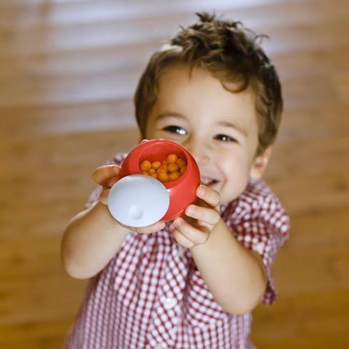 【奇買親子購物網】boon - SNACK BALL球型零食收納盒