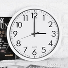 電子鐘 鐘錶客廳個性創意時尚家用掛鐘歐式現代簡約臥室靜音電子石英時鐘 3C公社