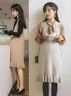 孕婦裝秋款套裝外出時尚冬季孕婦連衣裙秋冬款毛衣兩件套秋裝冬裝 潮流前線