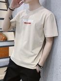 長袖t恤 秋裝棉質t恤男短袖上衣衣服寬鬆長袖休閒新款t恤打底衫【免運直出】