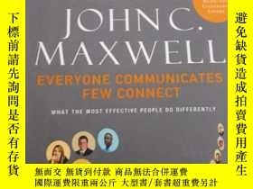 二手書博民逛書店Everyone罕見Communicates Few Conne
