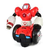 360旋轉音樂電動玩具車1-2-3周歲兒童寶寶男孩耐摔萬向小汽車模型 igo 薔薇時尚