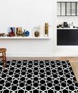 范登伯格 圓舞曲 亮黑星空絲質地毯-160x230cm