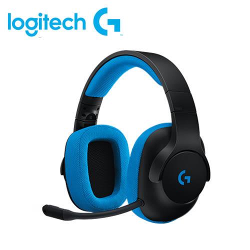 【logitech 羅技】G233 有線遊戲耳機麥克風 【贈USB風扇】