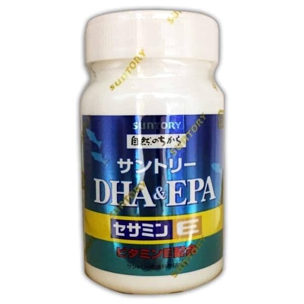 SUNTORY 三得利 DHA&EPA+芝麻明E 120錠/瓶 元氣健康館