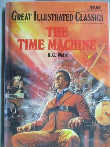 【書寶二手書T3/原文小說_NCV】The Time Machine_H.G.Wells