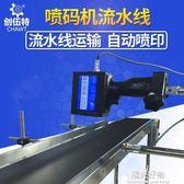 噴碼槍生產日期打碼機全自動智慧手持式噴碼機器墨盒流水線igo全館9折