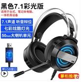 家用頭戴式電腦耳機線控耳麥臺式電競麥克風USB 有線藍芽游戲耳機 美眉新品