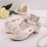 新款女童高跟公主涼鞋 夏季兒童韓版爆款 LR1788【VIKI菈菈】