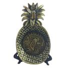 【收藏天地】台灣紀念品*台灣景點鳳梨形狀飾盤