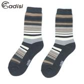 ADISI 條紋保暖對折雪襪AS17044(M-XL) / 城市綠洲專賣(保暖襪、毛襪、保暖透氣)