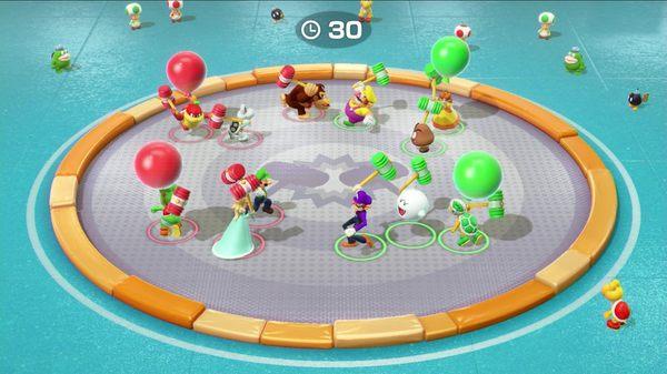 [哈GAME族]免運費 可刷卡●開趴絕不冷場●NS 超級瑪利歐派對 中文版 Mario Party 80種小遊戲 多人遊玩