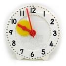 【台灣製USL遊思樂】教學時鐘 / 齒輪教學鐘(直徑28cm,1-60分印刷)