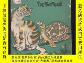 二手書博民逛書店THE罕見CAT AND THE TORTOISE【英文版插圖本