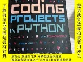 二手書博民逛書店Coding罕見Projects In PythonY442307