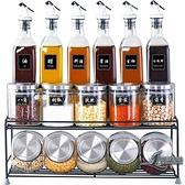 調味罐廚房油瓶套裝玻璃調料盒調料罐子組合裝【邻家小鎮】