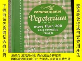 二手書博民逛書店Commonsense罕見VegetarianY19219 Murdoch Test Kitchen(默多克T