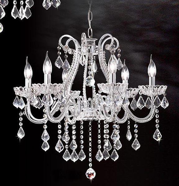 水晶吊燈6燈