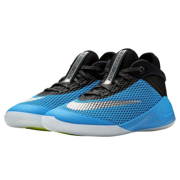 f7fcf5ce085d30 NIKE FUTURE FLIGHT GS 女鞋大童籃球避震耐磨藍黑 運動世界  AH3430 ...