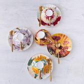 咖啡杯碟套裝歐式小奢華骨瓷簡約英式下午茶茶具茶杯子陶瓷咖啡杯 【巴黎世家】