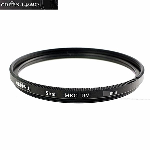 又敗家@GREEN.L 46mm UV濾鏡(無鍍膜.非薄框)UV保護鏡適PANASONIC G 20mm F1.7 14mm F2.5