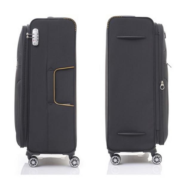 Samsonite 新秀麗 (促銷價7折) Crosslite AP5 大容量可擴充  旅行箱/行李箱-24吋(黑) AP5
