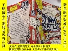 二手書博民逛書店the罕見brilliant world of tom gates:湯姆·蓋茨的輝煌世界.Y212829 不祥