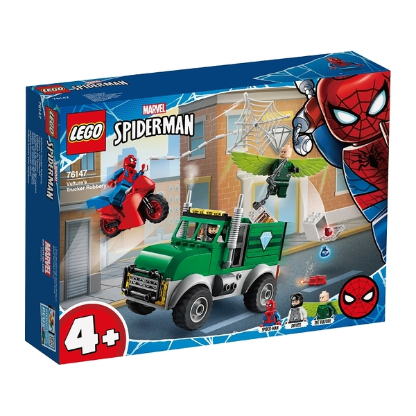 LEGO樂高 漫威超級英雄系列 LEGO Marvel Vulture's Trucker Robbery 76147 玩具反斗城