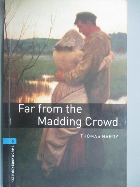 【書寶二手書T5/原文書_KII】Far From The Madding Crowd_Hardy, Thomas/ W