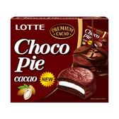 LOTTE 黑巧克力派(12顆)336g【愛買】
