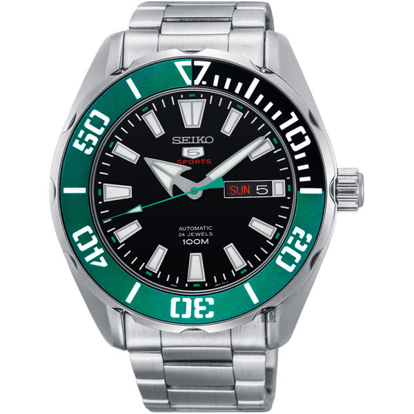 SEIKO 新綠水鬼機械錶